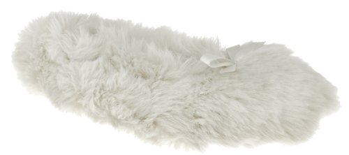 Cheap Capelli New York Faux Fur Ballet With Satin Bow And Lining ladies Indoor Slippers (B00937N4XQ)