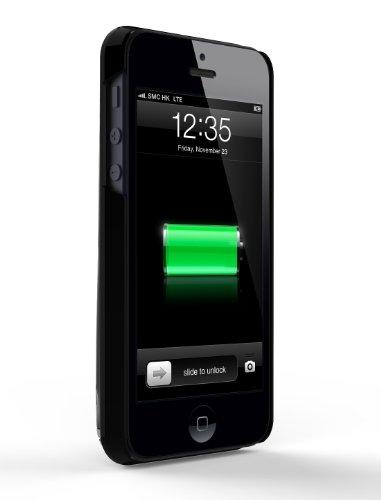 【国内正規品】【アップル認証】MiLi Power Spring 5 iPhone5S/5用バッテリーケース 2200mAh HI-C25  ブラック