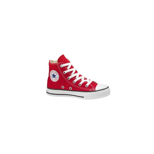 Converse Youth Allstar Hi Red Canvas Boot Red 13