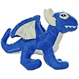 Mighty Jr. Dragon Dog Toy, Blue