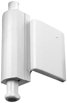 Prime-Line Products U 9033 Self-Stick Bubble Wall Mount Door Stop White Vinyl