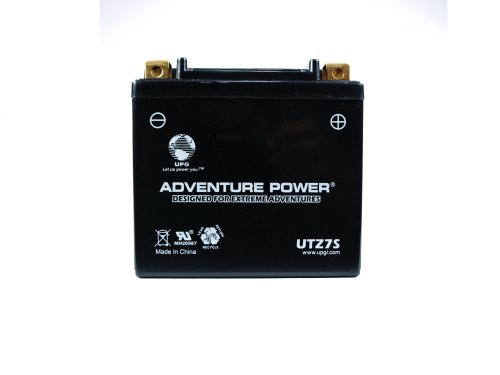 UPG UTZ7S  Adventure Power Power Sport AGM Series Sealed AGM Battery