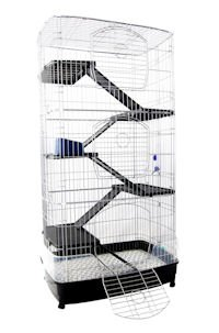 LEONARDO 2 CHINCHILLA FERRET RAT CAGE