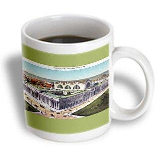 Bln Vintage New York City Collection - Pennsylvania Station, New York City Aerial View - 11Oz Mug (Mug_170843_1)