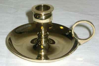 Brass Chime Candlestick Candle Holder for 1/2