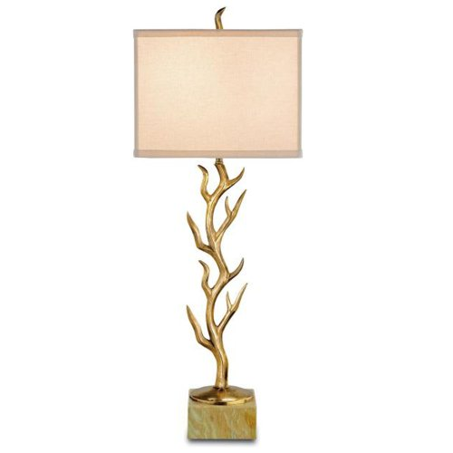 Luxury Compare Prices Currey Company Table Lamps with Bone Linen Shades Vintage Brass Finished