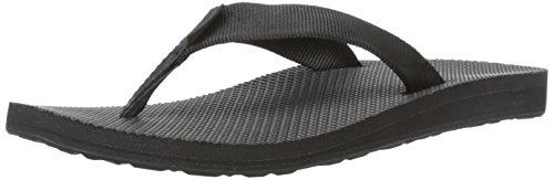 Teva Women's Classic Flip Flop, Black, 8 M US