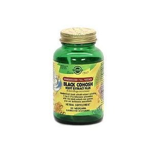Solgar - Black Cohosh Root Extract Plus, 60 veggie caps