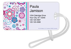 Checks In The Mail - Sweet Hearts Luggage Tags