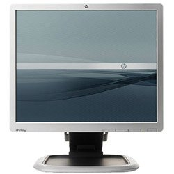"19"" Hp L1950G Dvi Rotating Lcd Monitor W/Usb 2.0 Hub (Silver/Black) - Rotates To Portrait Or Landscape View!"