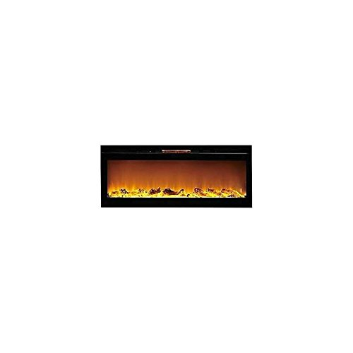 Gibson Living GL2060WL Reno 60 Inch Log Built-In Recessed Wall Mounted Electric Fireplace (Modern Propane Fireplace compare prices)