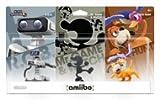 amiibo Retro 3-Pack レトロ 3フィギュア( 3体)北米版 [並行輸入品]