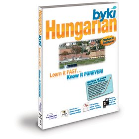 Byki Hungarian Language Tutor Software & Audio Learning CD-ROM for Windows & Mac