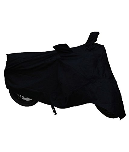 Black Dust Proof Water Resistant Double Mirror Pocket Bike Body Cover for Avenger Street 220 (Black)