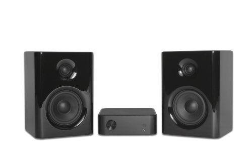 Kanto Speakers Yaro-Combo 2-Channel Audio System With Bang And Olufsen Icepower Technology (Piano Black)