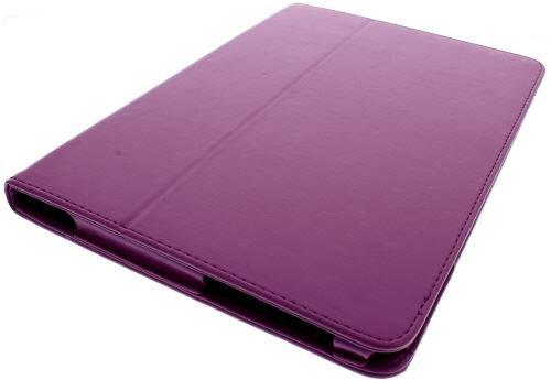 Neu! PU Leder Tasche / Hülle / Etui / Case für Samsung Galaxy Tab 2 - 10.1 P5100 - Lila