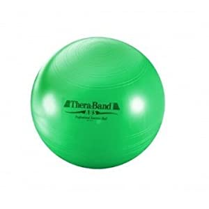 Thera-Band Exercise Ball, Green 65 cm  - For height 5' 7 - 6' 1