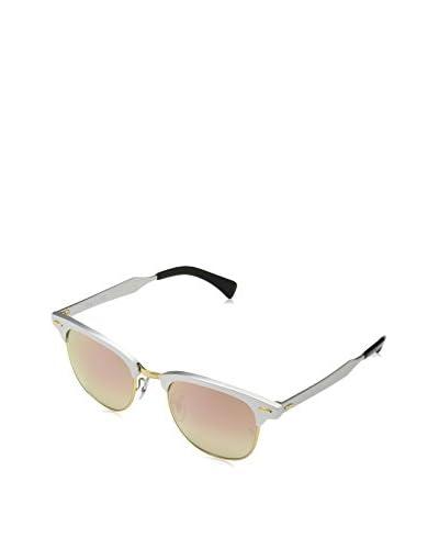 Ray-Ban Gafas de Sol CLUBMASTER ALUMINUM (51 mm) Plateado