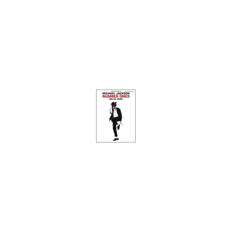 Michael Jackson   Billie Jean   P/V/G Sheet Music