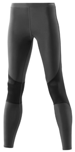 Skins RY400 Women's Compression Long Tights for Recovery-Graphite-MA