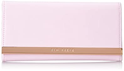 Ted Baker Metal Bar Matinee Bifold,Dusky Pink,One Size