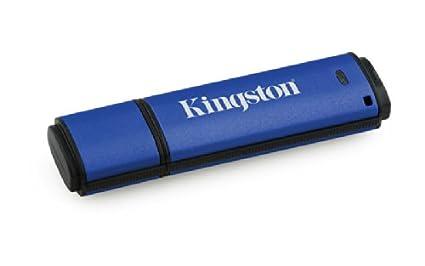 Kingston DataTraveler Vault Privacy 16GB Pen Drive (Blue)