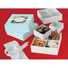 Martha Stewart Crafts Holiday Winter Wonderland Compartment Treat Box