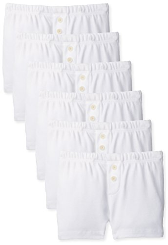 Burt's Bees Baby Boys' Set Of 6 Boxers , Cloud, 18 Months