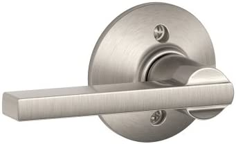 Schlage F170 LAT 619 Latitude Dummy Lever Trim, Satin Nickel