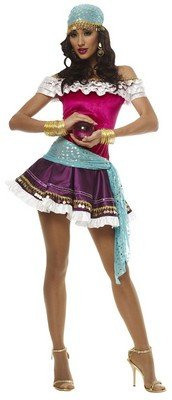 Ladies Halloween Gypsy Woman Costumes