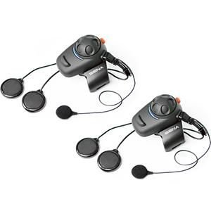 Sena Technologies SMH-5 Bluetooth Headset/Intercom w/Wired Mic - Dual Sena Technologies Bluetooth Headsets autotags B009DD0VTU