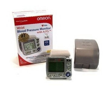 Cheap Omron HEM-670IT Ultra Premium Wrist Blood Pressure Monitor with APS and Health Management Software (OMHEM-670IT)