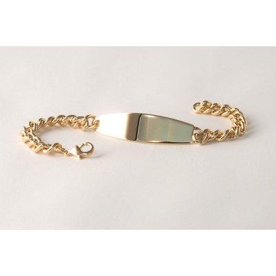 Ident Men's Oval Bracelet Color: Yellow