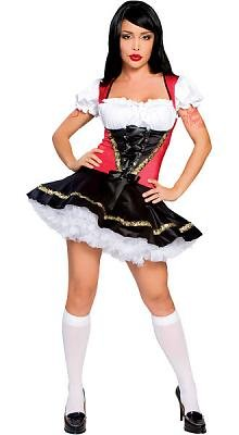 Oktoberfest german beer girl adult maid costume outfit fancy dress