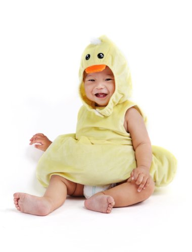 M4U Baby Chicken Pattern Polyester Costume Color Yellow One Size