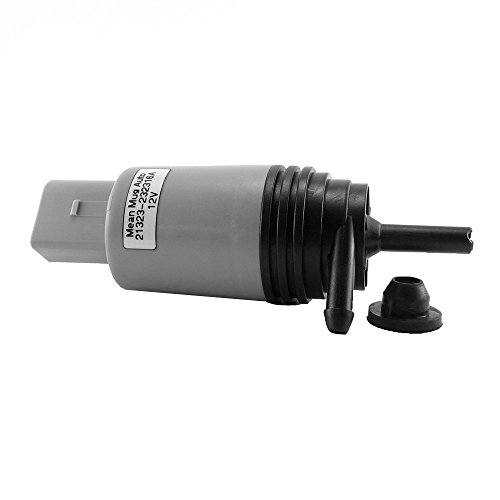 Mean Mug Auto 21323-232316A Windshield Washer Pump w/ Grommet - For: BMW - Replace OEM #: 67126934159, 67127302589 (2005 Bmw 745i Windshield Wipers compare prices)