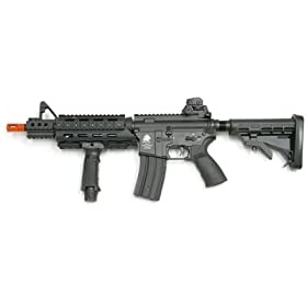 Full Metal Model 4 Commando AEG Airsoft Rifle airsoft gun