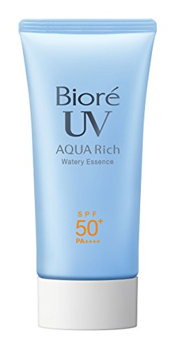 Biore KAO JAPAN AQUA RICH Sarasara SPF50+/PA++++ 50g Sunscreen