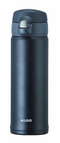 オルゴ ステンレスワンタッチマグボトル 500ml ネイビーブラック MBS-500-NB