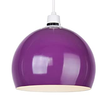 Ceiling lights purple