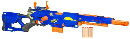 Nerf N-Strike Longstrike CS-6 Dart Blaster(Discontinued by manufacturer) (Nerf Guns At Walmart compare prices)