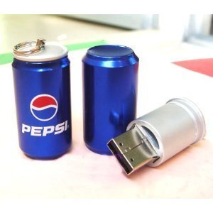 High Quality 4 GB pepsi Can Shape USB Memory Stick Flash Pen Drive by T &  J
