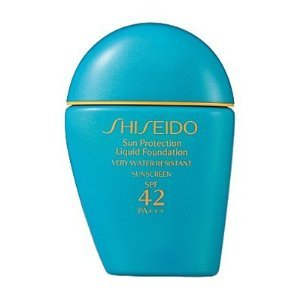 Best Cheap Deal for Shiseido Sun Protection Liquid Foudation SPF 42 * PA+++ Very Water-Resistant Sunscreen 30ml/1fl.oz. SP60 by Shiseido - Free 2 Day Shipping Available