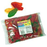 Swedish fish large assorted 5lb bag gummy for Swedish fish amazon