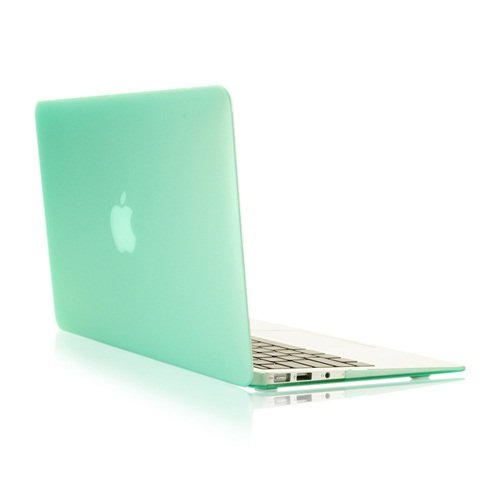 TopCase Rubberized Hard Case Cover for Macbook
