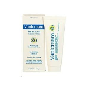Vanicream Sunscreen, Sensitive Skin, SPF 30, 4-Ounce,