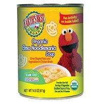 Earth'S Best Sesame Street Elmo Noodlemania Soup (12X14.5 Oz) front-59501