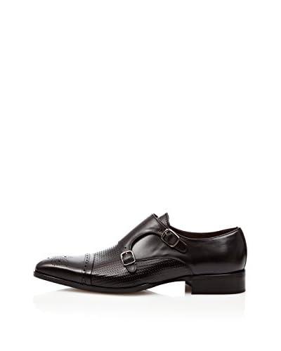 Ortiz & Reed Zapatos Monkstrap Donato Negro
