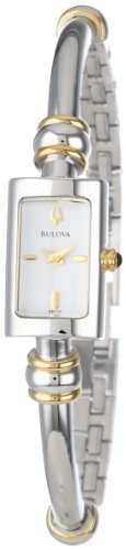 Bulova Women's 98V09 Bangle Bracelet Watch