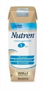 Nutren 1.0 Nutritional Supplement ( NUTREN, 1.0, 250 ML CAN, VANILLA ) 24 Each / Case